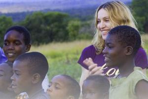 Madonna in Malawi and me? Someday.