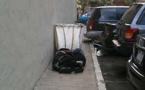 homeless in love